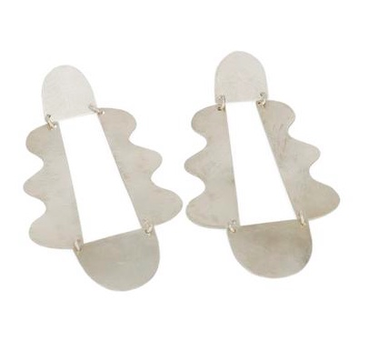 ABC earrings