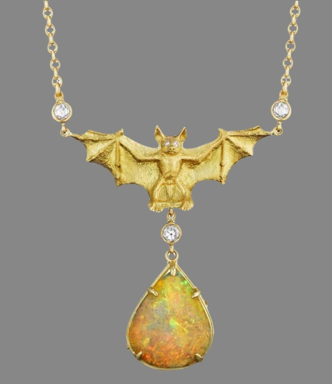 Anthony Lent Bat Necklace