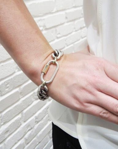 Marla Aaron Lock Bracelet