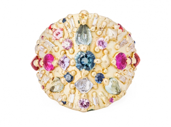 Polly Wales Ourika Shield Ring