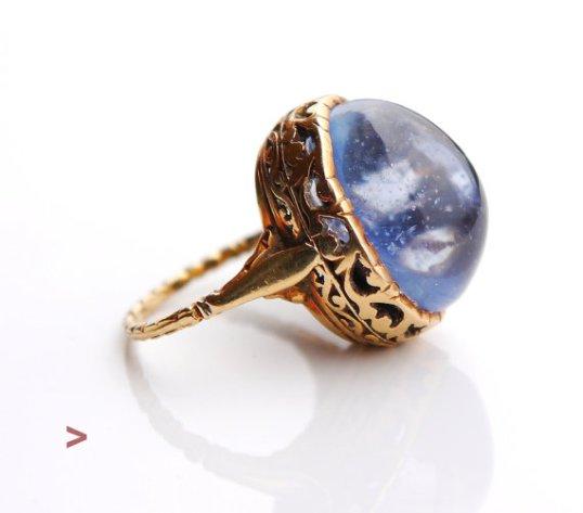Antique sapphire ring