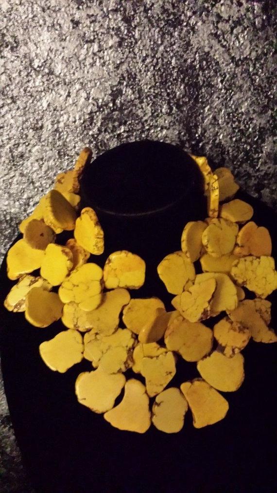 yellow-slab-turquoise-necklace