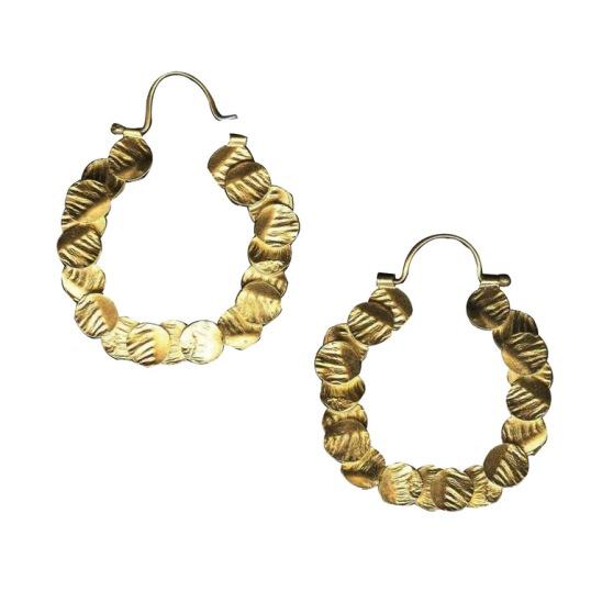 lingua-nigra-100-circles-hoop-earrings
