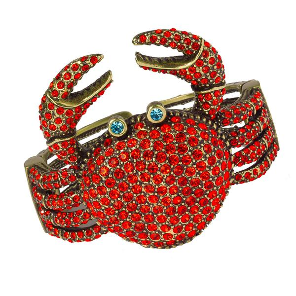 4cee3097e4826 Jewel of the day: Heidi Daus Queen Crab Bracelet – IntoTemptation ...